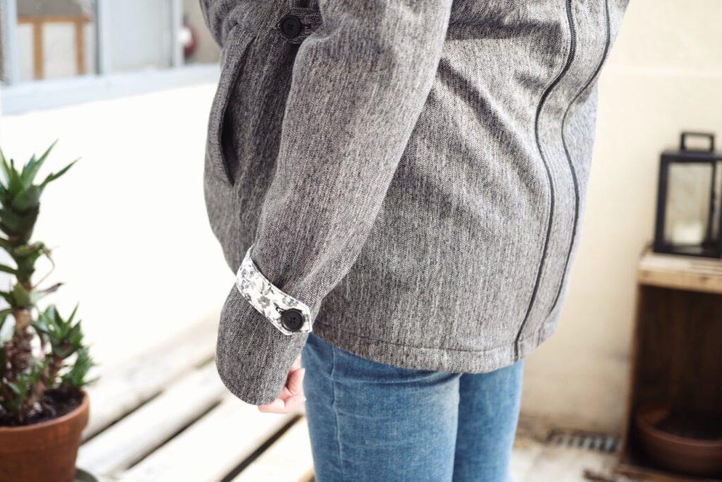 Manteau portage dos