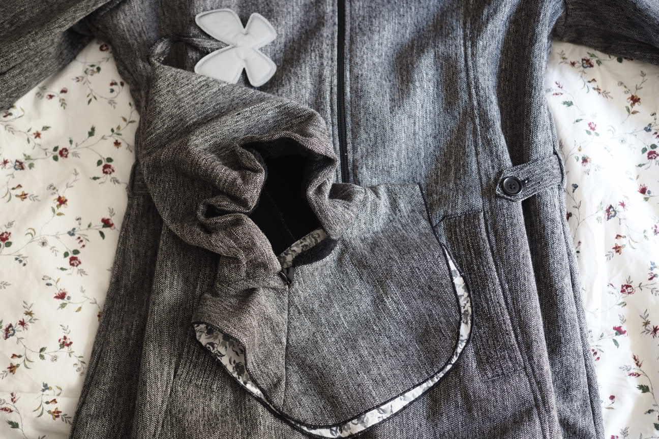 Manteau de portage